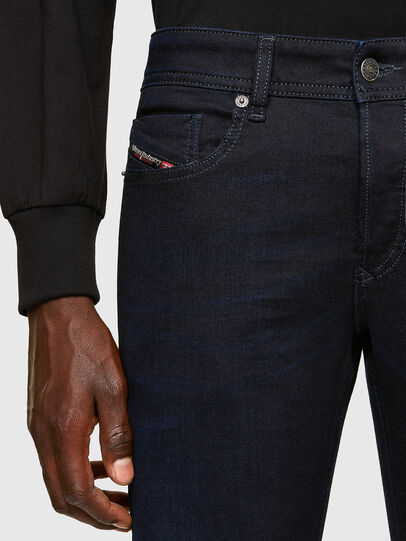 Diesel - Sleenker 0095X, Dark Blue - Jeans - Image 3
