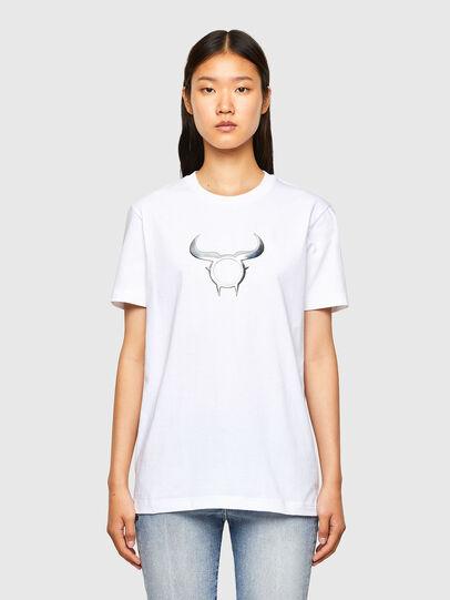 Diesel - CL-T-DIEGOS-O2, White - T-Shirts - Image 2