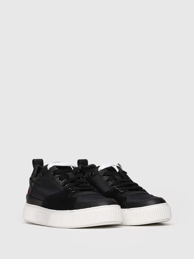 Diesel - S-DANNY LC W, Black - Sneakers - Image 3