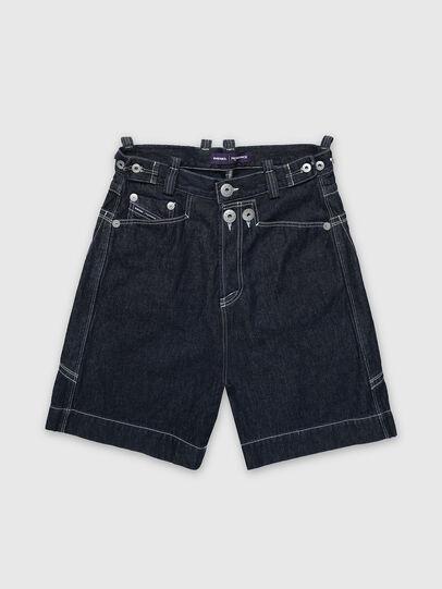 Diesel - PR-PT01A, Dark Blue - Shorts - Image 1