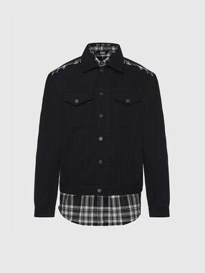 NHILL-C, Black - Denim Jackets