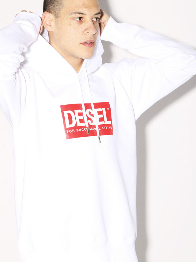 Diesel - DEIS-SHOOD, White - Sweaters - Image 7