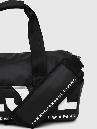 Diesel - F-BOLD DUFFLE II, Black - Travel Bags - Image 5