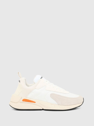 Sneakers in ripstop nylon and suede