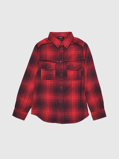 Diesel - CMILLERPATCH, Red - Shirts - Image 1