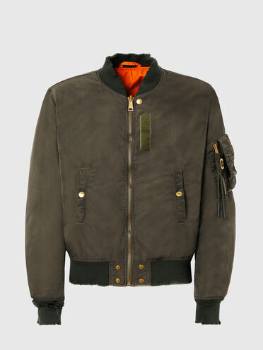 Reversible jacket in drip-proof nylon