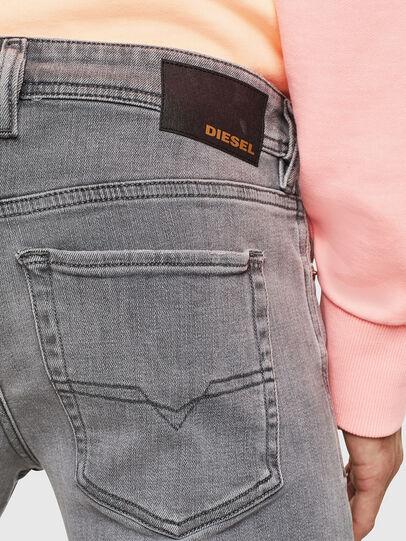 Diesel - Sleenker 0095E, Black/Dark grey - Jeans - Image 4