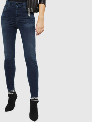 Slandy High 084UT, Dark Blue - Jeans