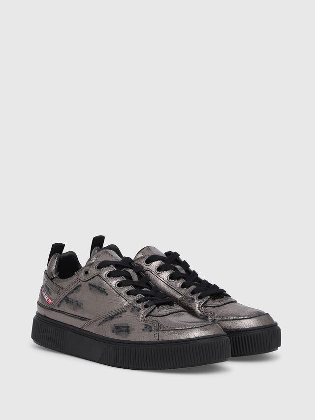 Diesel - S-DANNY LC II W, Silver/Black - Sneakers - Image 2