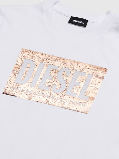 Diesel - TFOIL, White - T-shirts and Tops - Image 3