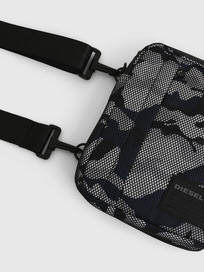 Diesel - ODERZO, Grey/Blue - Crossbody Bags - Image 6