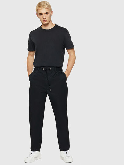 Diesel - P-MORGY, Black - Pants - Image 5