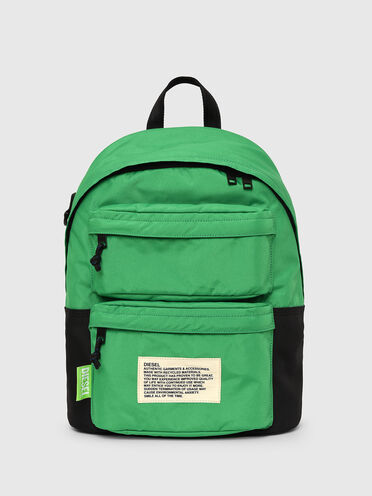 Green Label colour-block backpack
