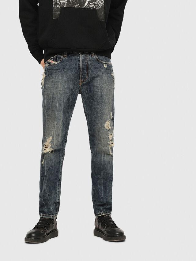 Diesel Mharky 084ZM, Dark Blue - Jeans - Image 1