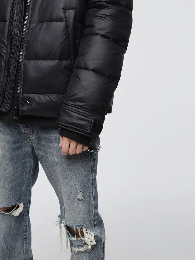 Diesel - W-SMITH-A-WH, Black - Winter Jackets - Image 4