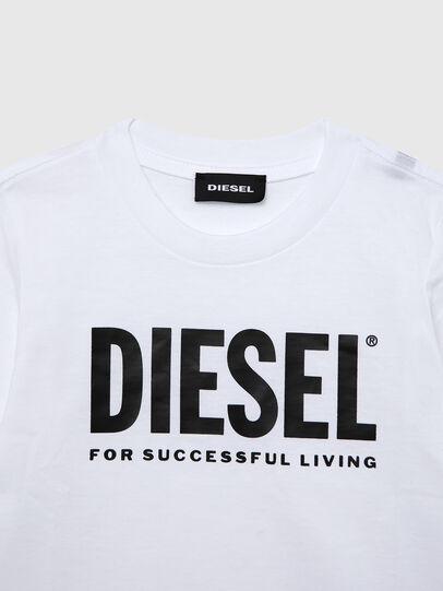 Diesel - TJUSTLOGOB ML-R, White - T-shirts and Tops - Image 3