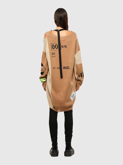 Diesel - M-ANNE, Light Brown - Knitwear - Image 2