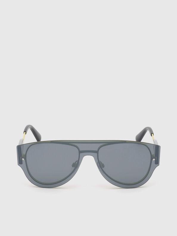 DL0273, Black/Yellow - Sunglasses