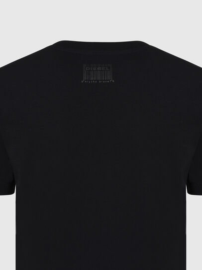 Diesel - T-SILY-E56, Black - T-Shirts - Image 3