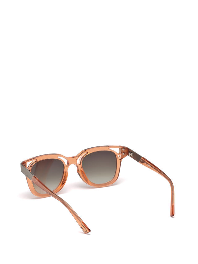 Diesel - DL0232, Peach - Sunglasses - Image 2