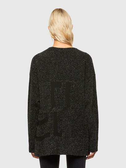Diesel - M-AGATE, Black - Knitwear - Image 2