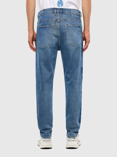Diesel - D-Vider 009GD, Medium blue - Jeans - Image 2