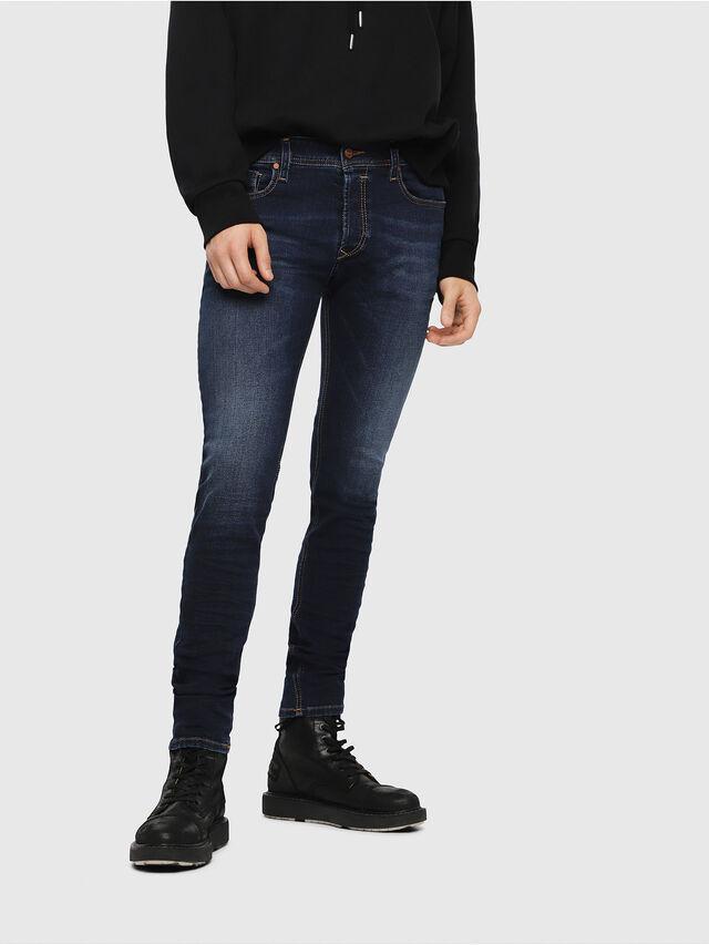 Diesel Sleenker 084RI, Dark Blue - Jeans - Image 1