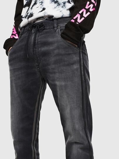 Diesel - Krooley JoggJeans 0094Q, Black/Dark grey - Jeans - Image 3