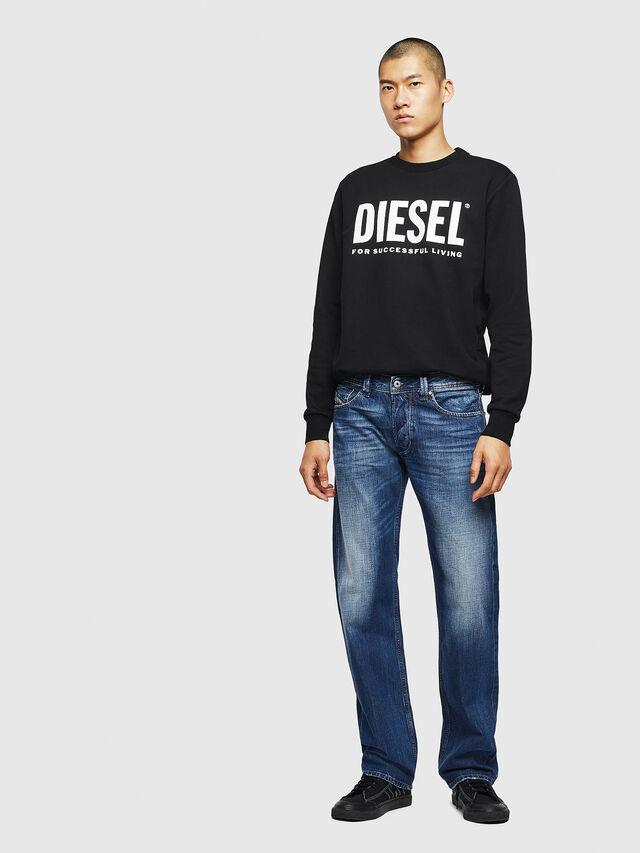 Diesel - Larkee 008XR, Dark Blue - Jeans - Image 5