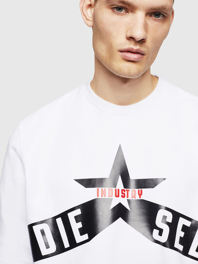 Diesel - S-GIR-A2, White - Sweaters - Image 3