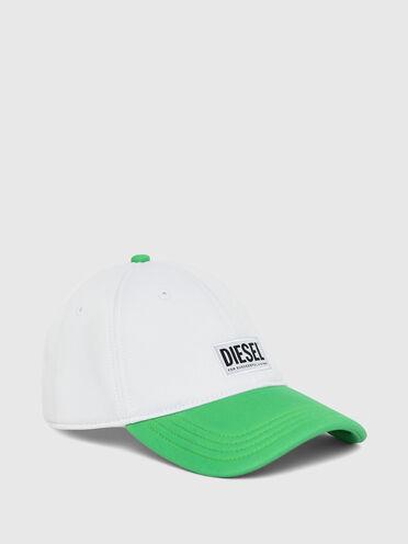 Two-tone baseball cap in neoprene