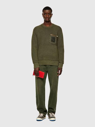 Diesel - K-MAINE, Olive Green - Knitwear - Image 5