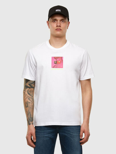 Diesel - T-JUST-X64, White - T-Shirts - Image 5