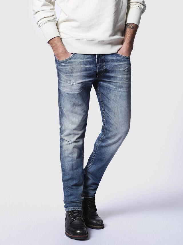 Diesel - Thommer 084DD, Medium blue - Jeans - Image 1