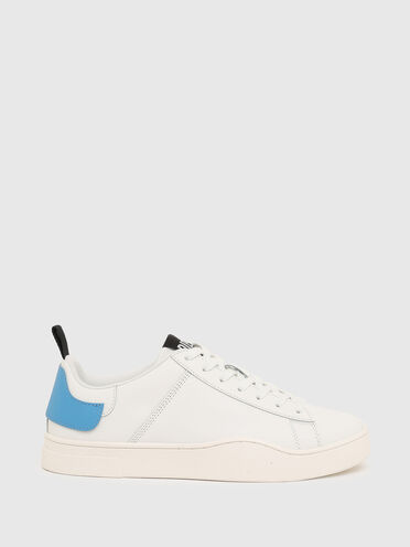 Low-top sneakers with double heel tab