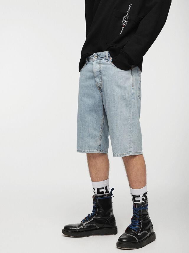 Diesel KEESHORT, Light Blue - Shorts - Image 1