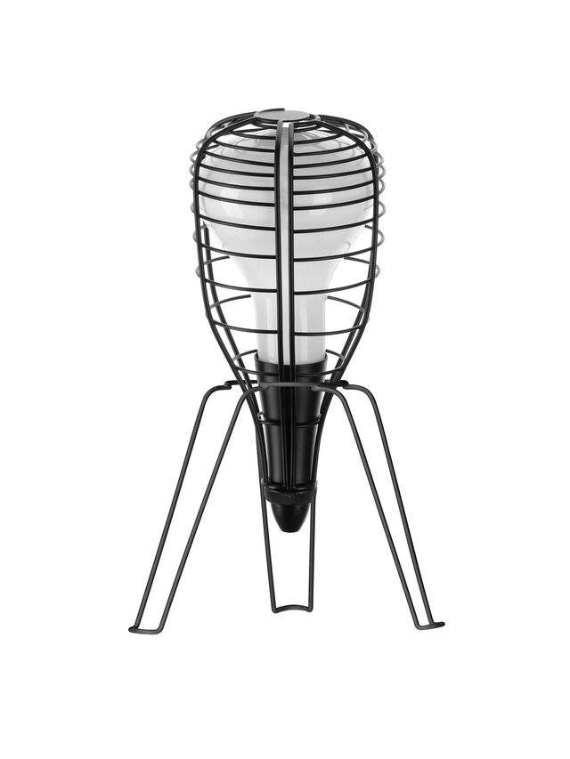 Living CAGE ROCKET NERO, Black - Table Lighting - Image 1