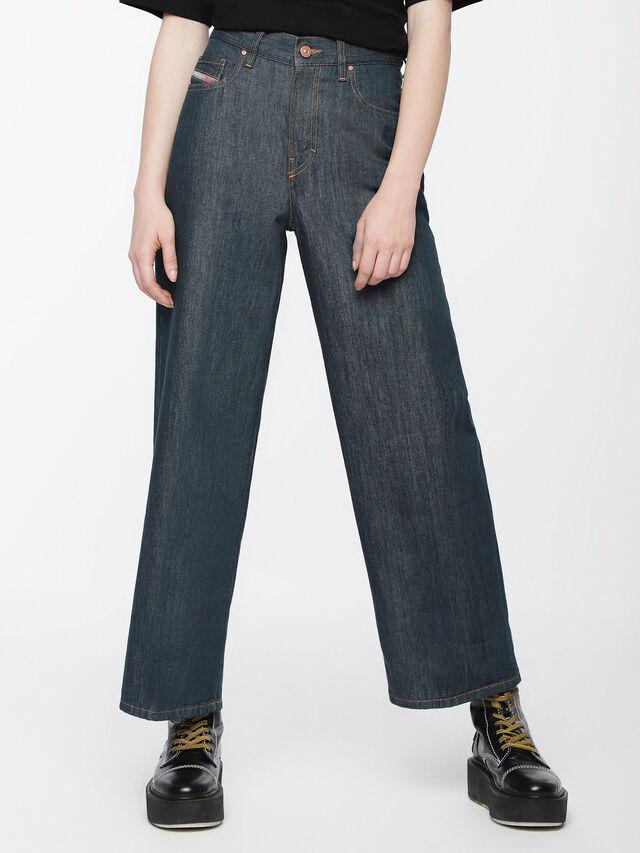 Diesel - Widee 084UR, Dark Blue - Jeans - Image 1
