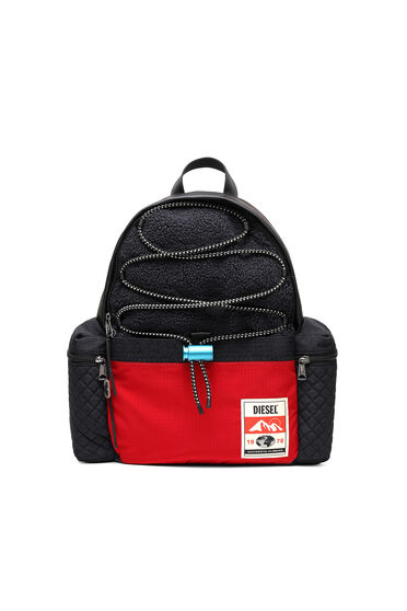 Backpack with trekking details