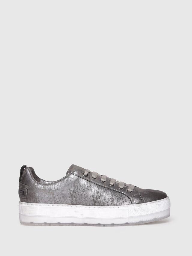 Diesel - S-LENGLAS LOW LACE, Silver - Sneakers - Image 1