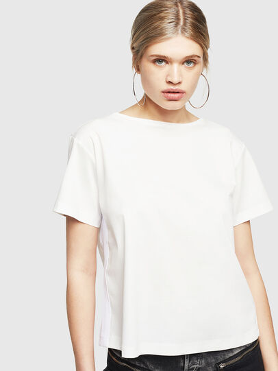Diesel - T-RYLY, White - T-Shirts - Image 1