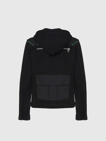 Diesel - D-COSMIC, Black - Denim Jackets - Image 2