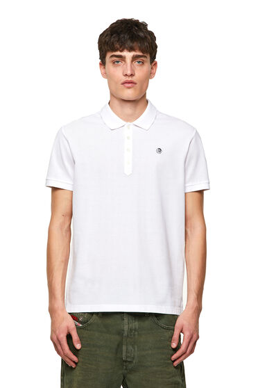 Green Label polo shirt with Mohawk patch
