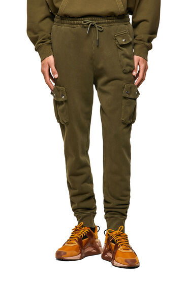 Sweatpants with cargo pockets