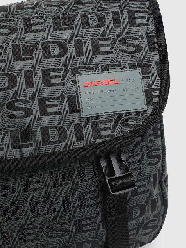 Diesel - F-DISCOVER MESSENGER, Black/Green - Travel Bags - Image 3