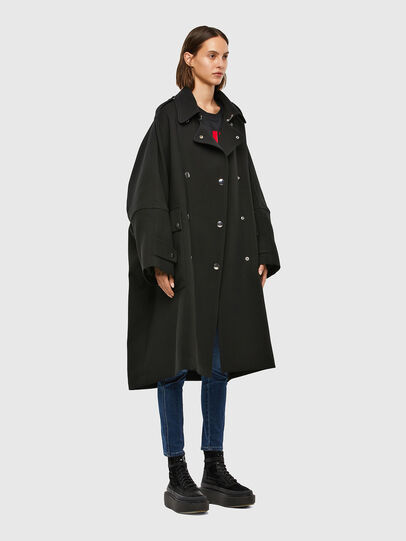 Diesel - W-TILLER, Black - Winter Jackets - Image 6