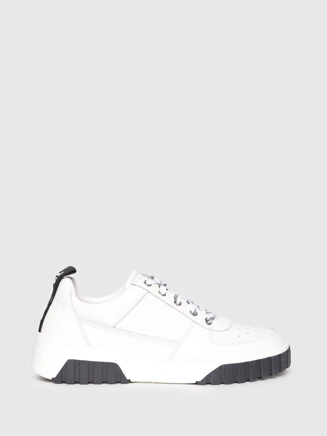 Diesel - S-RUA LC W, White - Sneakers - Image 1