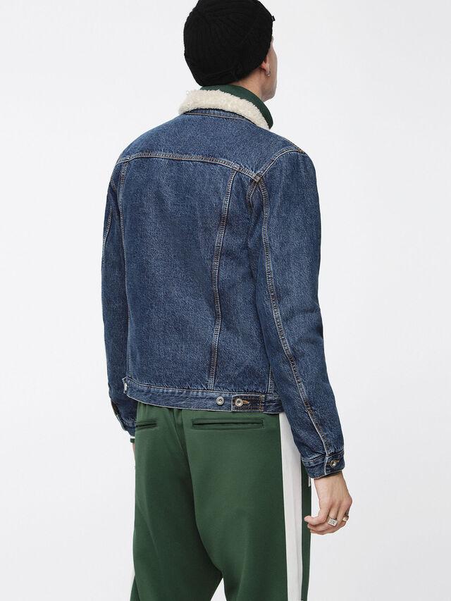 Diesel - D-GIOC-FUR, Blue Jeans - Winter Jackets - Image 2
