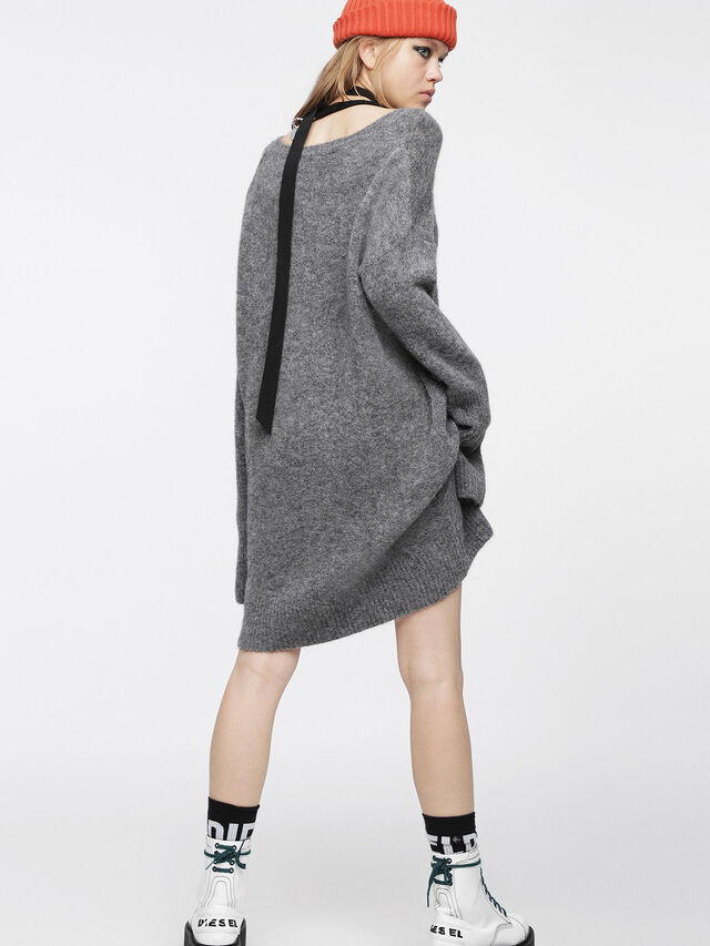 Diesel - M-SOFTY, Grey - Dresses - Image 2