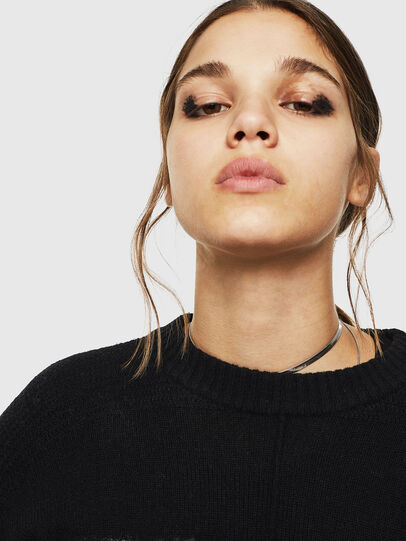 Diesel - M-POST, Black - Knitwear - Image 5